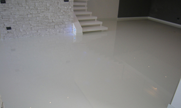 epoxy floor basement