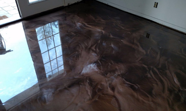 metallic epoxy floor Missouri